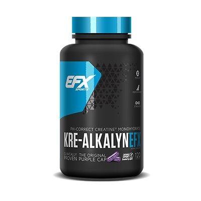 (14,01€/100gr) EFX Kre-Alkalyn 750mg (120 Kapseln)  - Kre-Alkalyn, Kreatin