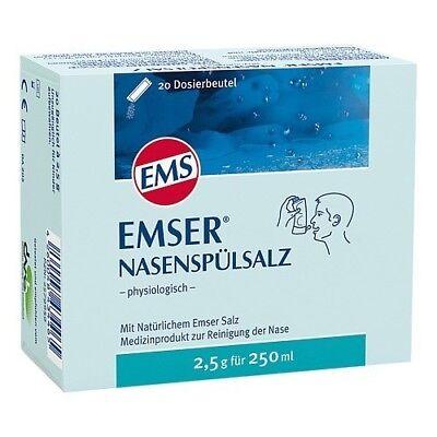 EMSER Nasenspuelsalz physiologisch Btl. 20St PZN 02579659