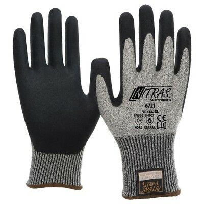 Schnittschutzhandschuhe Schnittfeste Handschuhe Klasse 5 NITRAS TAEKI5 6721