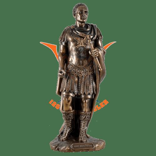 Gaius Julius Cäsar Skulptur Figur Statue Imperator Kaiser Feldherr 708-6171