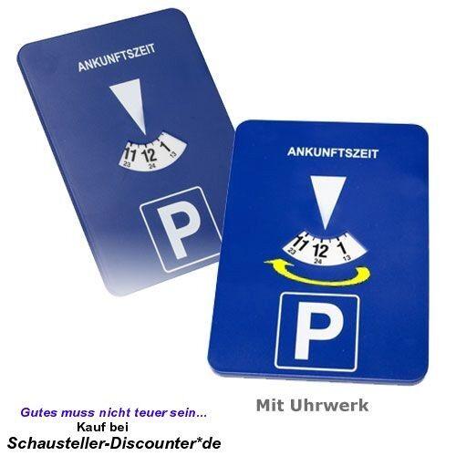 *TOP* - Elektronische mitlaufende Parkscheibe Parkuhr mit Uhrwerk Uhr - *NEU*