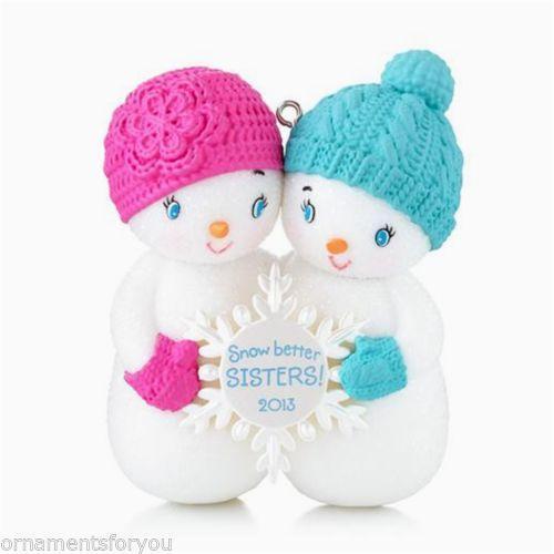 Hallmark Sister Ornaments EBay