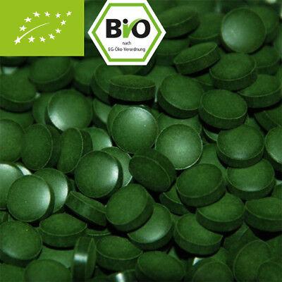 1Kg Bio Chlorella, 4000 Presslinge ohne Zusätze - 100% Bio mit Analyse