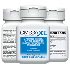 Omega XL 60ct by Great HealthWorks: Small, Potent, Joint Pain Relief - O...