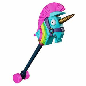 NEW Fortnite RAINBOW SMASH Unicorn PICKAXE Cosplay / Halloween Custom Accessory