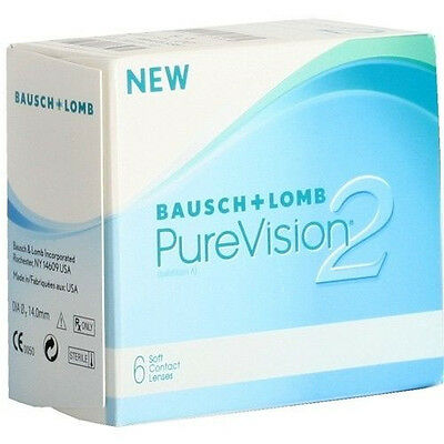 PureVision 2 HD von Bausch&Lomb Monatslinsen von -0,50 bis -9,00