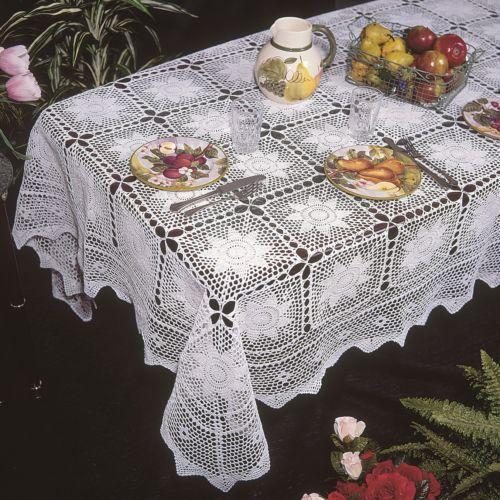Crochet Tablecloth EBay