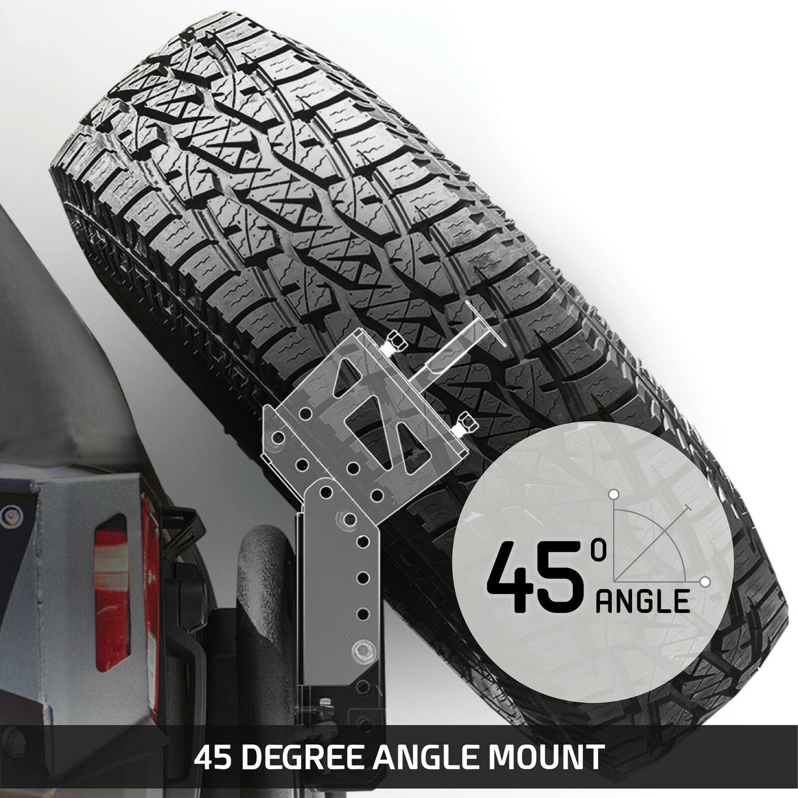 Accessories Spare Smittybilt Tire