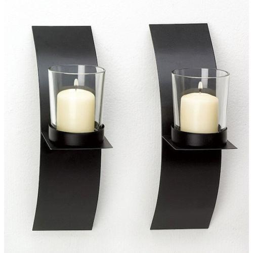 Large Wall Candle Sconce | eBay on Large Wall Sconces Candle Holders Decorative id=84016