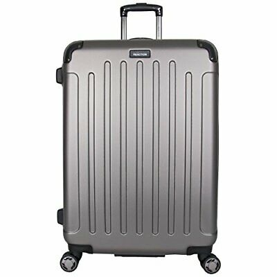"Kenneth Cole Reaction Renegade 28"" ABS Expandable 8-Wheel Upright, Silver NICE"