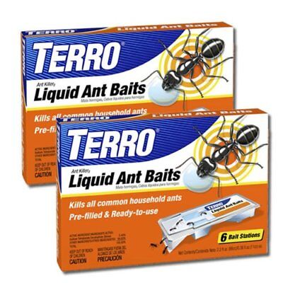 Advanced Ant Terro Bait Killer Traps How To Get Rid Of Ants Anti 2 Pack Kitchen