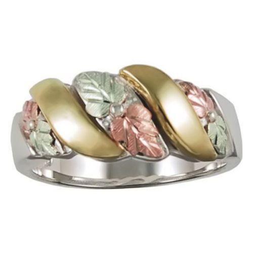 Mens Black Hills Gold Ring EBay