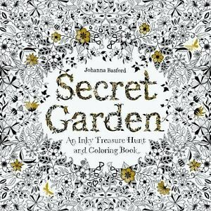 Image result for Secret Garden An Inky Treasure Hunt and Colouring Book