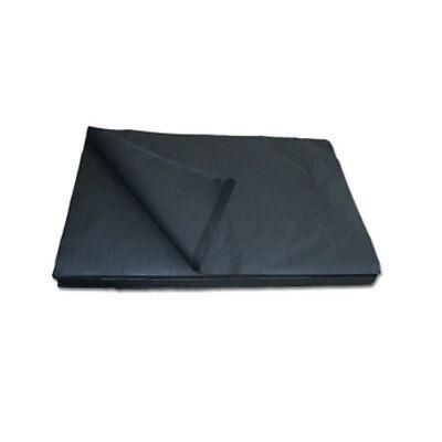 12,5 kg schwarze Packseide, 38x50cm, Packpapier, Seidenpapier