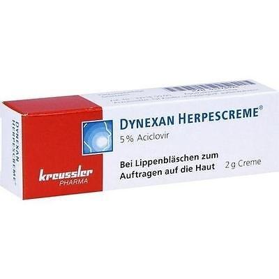 DYNEXAN Herpescreme 2 g PZN 3278026