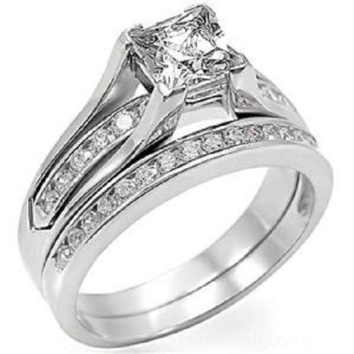 Unique Wedding Ring Set EBay