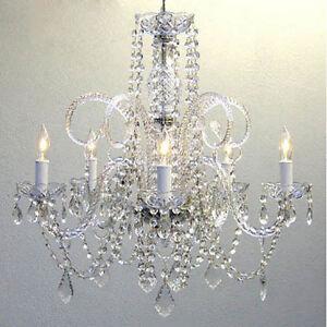 Empire Victorian Chandelier W Swarovski Crystal