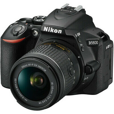 Nikon D5600 DSLR Camera with 18-55mm Lens - AUTHORIZED NIKON DEALER