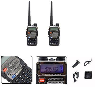 Hand-Funkgerät UV-5R Plus Baofeng Walkie-Talkie PMR CTCSS Amateurfunk Headset