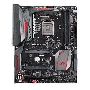 ASUS MAXIMUS VIII HERO, LGA 1151, Intel Motherboard for