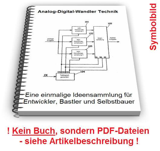 Analog Digital Wandler selbst bauen AD-Wandlung Technik Patente Patentschriften
