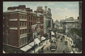 Ireland-DUBLIN-Grafton-Street-1907-PPC-Medical-Hall-Hamilton-Long-Co-tram-15