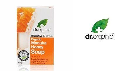Dr. Organic -Manukahonig Manuka Honey Soap  - Seife Active 30 +  - 100 g