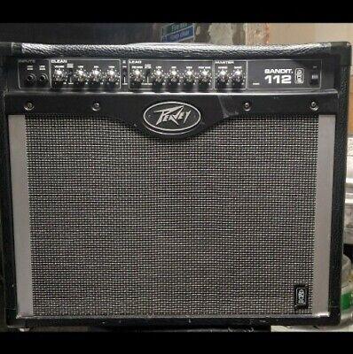 PEAVEY TRANSTUBE BANDIT 112 GUITAR AMP ....
