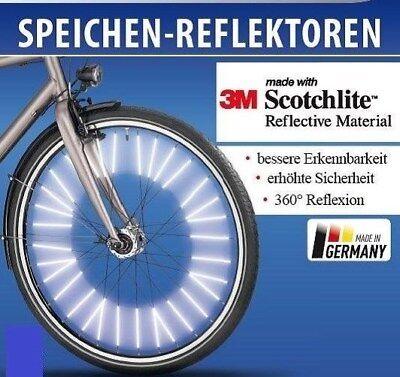 Speichenreflektoren 72 Stk 1 Fahrrad 3M™-Scotchlite™-Reflexmaterial TOP SELLER