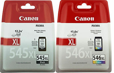 2 XL Original Canon TINTE PATRONEN PIXMA MG2550 MG2555 MG2950 MX494 MX495 im Set