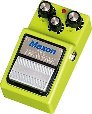 NEW Maxon SD-9 Sonic Distortion - BACK IN STOCK.w / Full Warranty in Aust.