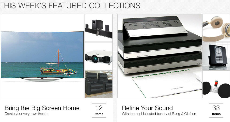 Bring the Big Screen Home | Create your very own theater | Refine your sound | With the sophisticated beauty of Bang & Olufsen
