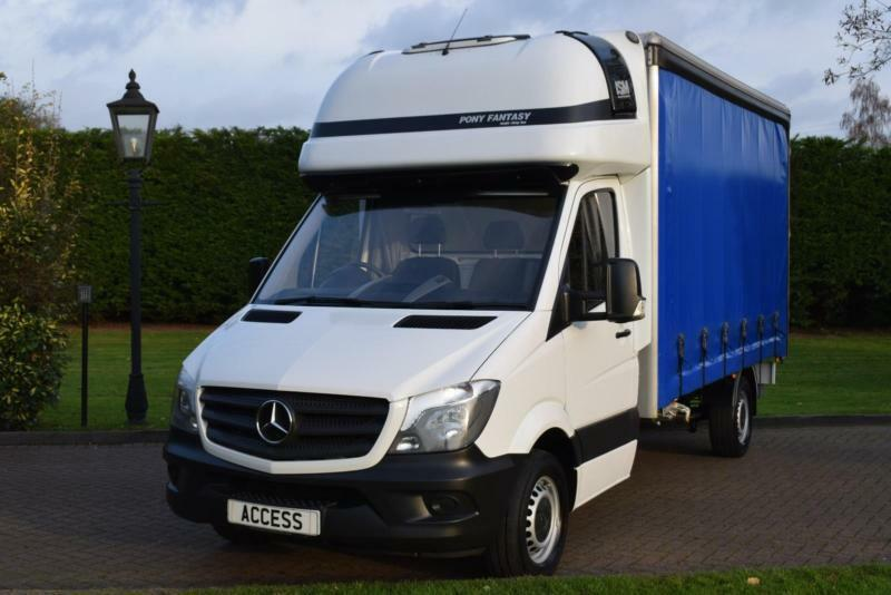 Mercedes Benz Sprinter Curtain Sider 316cdi Sleeper Cab