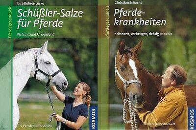 Buchpaket - Kosmos Verlag Pferde Gesundheit  - 2 Bücher NEU OVP