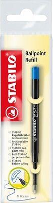 Kugelschreibermine STABILO® Ballpoint Refill, 0,5 mm, blau (Stabilo; #Kugelsc...