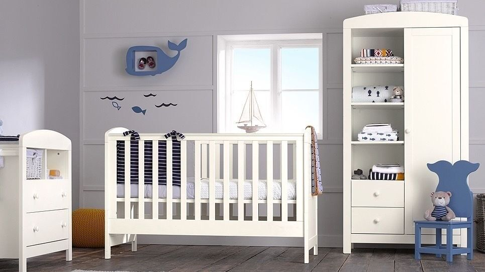 mothercare baby nursery set padstow 3 nursery on 3 Piece Nursery Set id=92244