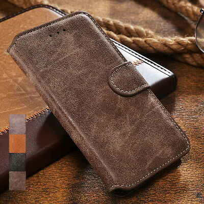 Samsung Galaxy S4 Hülle Kunstleder Handy Tasche i9500 Cover Schutzhülle FlipCase