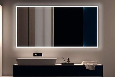 LED BAD SPIEGEL Badezimmerspiegel mit Beleuchtung Badspiegel Wandspiegel S100