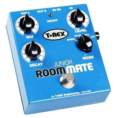 Pedal Effect T-Rex Room-Mate Junior Reverb Free Overnight Domestic Shipping