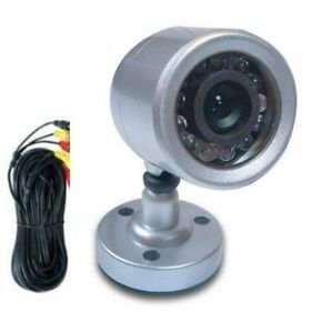 Astak CM-612W Wired Security and Surveillance Camera Nightvision With Microphone