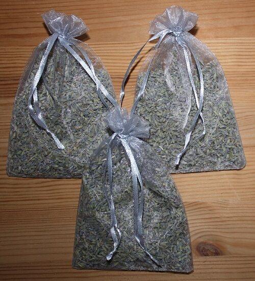 3 Lavendelsäckchen XL duftstarker Lavendel aus Frankreich Duftsäckchen Geschenk