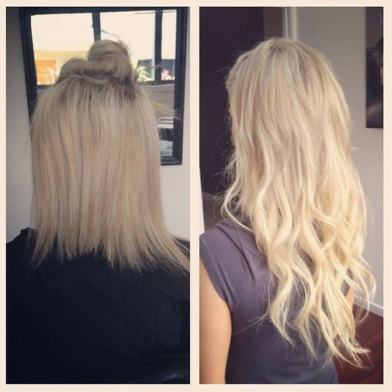 Hair Extensions In Time For Xmas Fusion Bonds Tape Ins