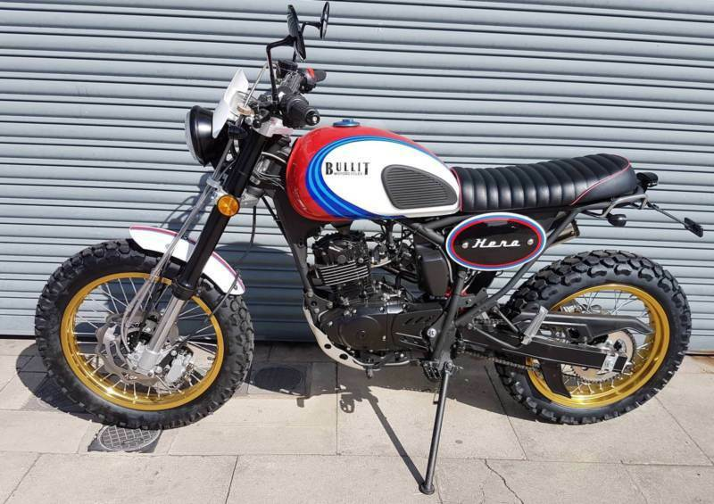 New Custom Built Bullit Hero Racing 125 Retro Scrambler Motorcycle Euro 4 In Southport Merseyside Gumtree
