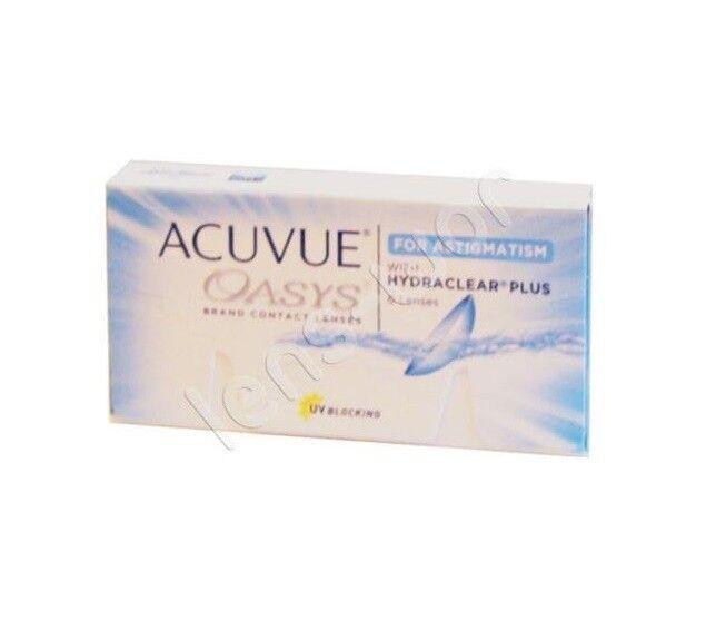 Acuvue Oasys for Astigmatism Toric 1x6, 2x6, 4x6 Johnson&Johnson 2-Wochen-Linsen