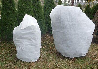 Frostschutzhaube für Pflanzen Wintervlies Pflanzenschutz Winterschutzhaube Haube