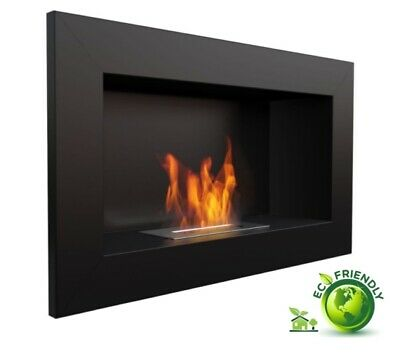 Stove/Fireplace/ Fireplace Wall Eco a Bioethanol Recessed - Fire Wall