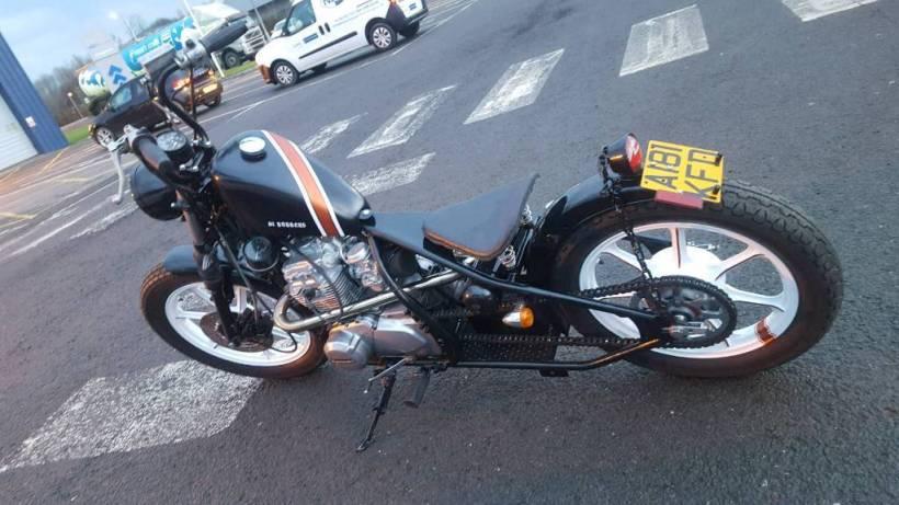 kawasaki kz440 bobber   Amatmotor co