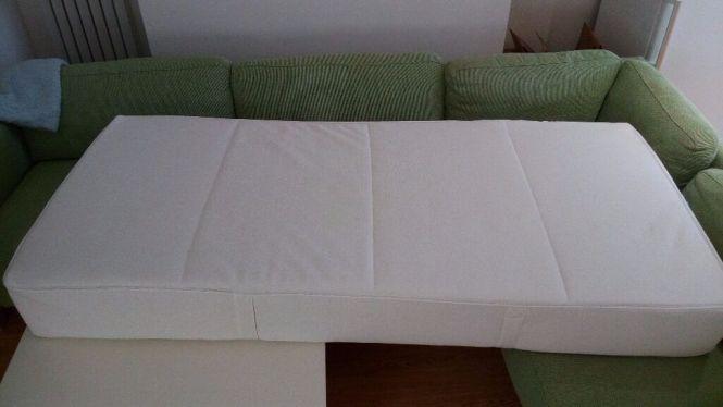 Ikea Sultan Flokenes Polyurethane Foam Mattress 90x200 Cm White 70139918