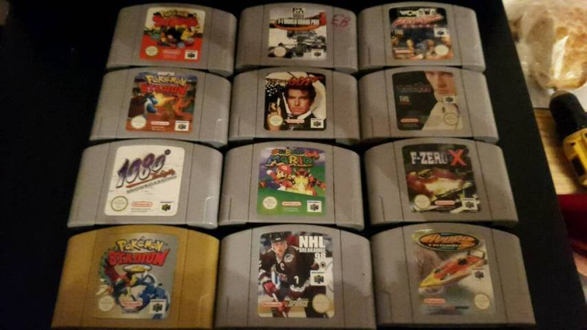 Nintendo games  N64  Snes  Gameboy   in Broughty Ferry  Dundee   Gumtree Nintendo games  N64  Snes  Gameboy