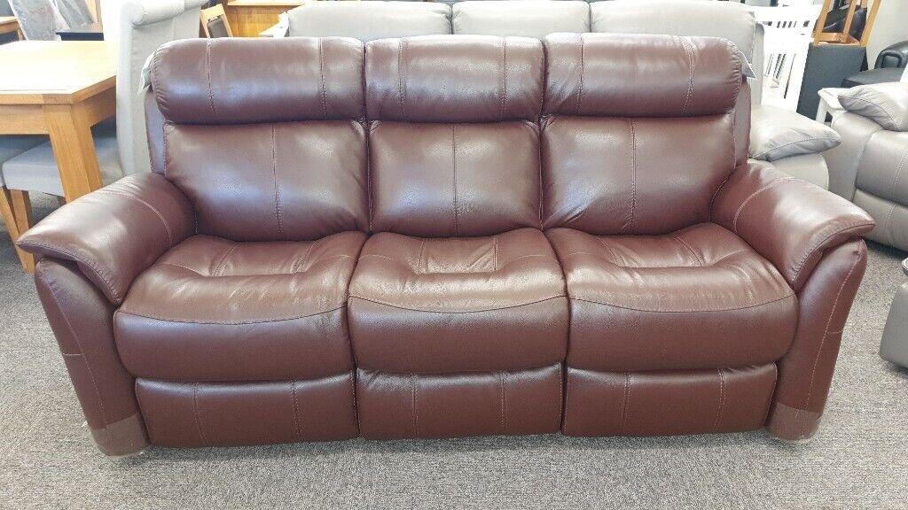 Bensons for beds / dfs / dreams / furniture village / harveys / scs / sleepmasters. Furniture Village Relax Station Revive 3 Seater Brown ...